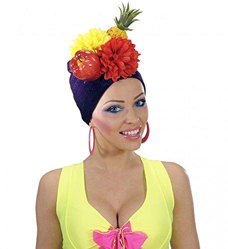 shoperama Tocado Miranda de Brasil con Frutas Brazil Gorro para Frutas Piña exóticas Samba Carnaval En Rio