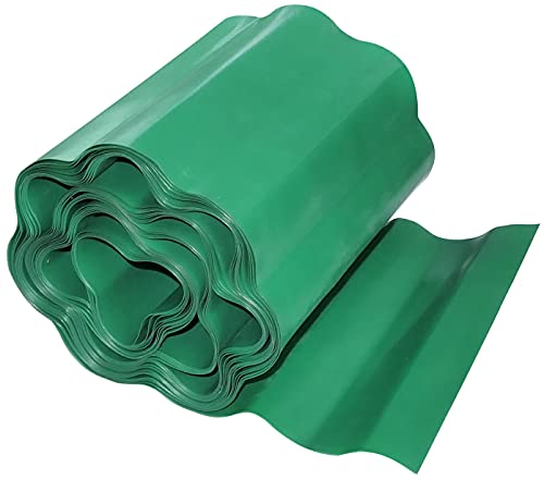 AERZETIX - C49974 - Barrière Anti-Racines et rhizomes 200mm x 9m pour pelouse - Protection/Rouleau Anti-Racine - barrière de contrôle des Racines - en Plastique - Couleur Vert