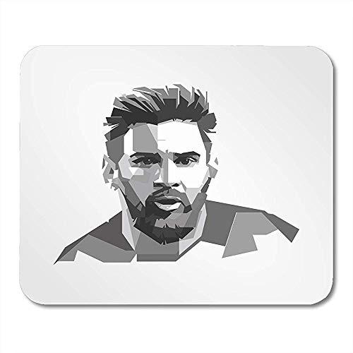Mauspads Surabaya Indonesien Dec Lionel Messi Argentinischer Fußballer der als Vorwärtsspiel spielt, für Notebooks, Computer, 24,9 x 19,8 cm