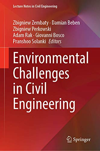 Environmental Challenges in Civil Engineering: 122 (Lecture Notes in Civil Engineering)