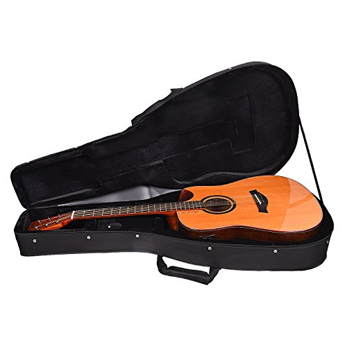 Kadence Premium Series Slowhand Demi Cut Semi Acoustic Guitar With EQ (Cedar Solid Top With Hardcase)