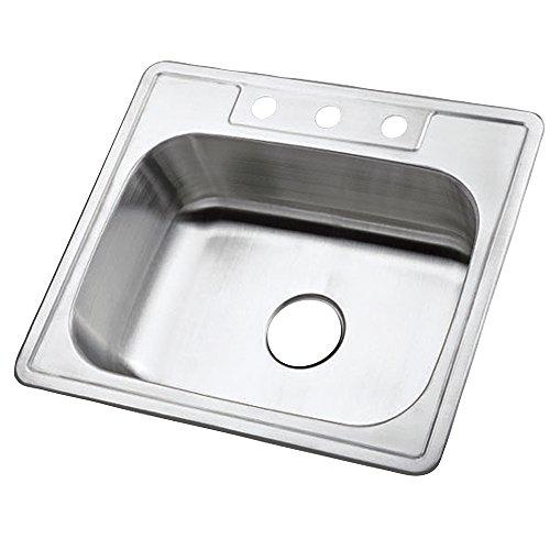 Gourmetier Gkts2520 Prime Stainless Steel Kitchen Sink