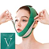 Face Slimming Strap, Double Chin Reducer, V line face lifting belt for improving Sagging skin, Anti Wrinkle and firming skin