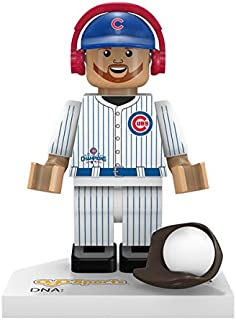 OYO MLB Chicago Cubs Ben Zobrist Gen 5 World Series Champion Mini Figure, Black, Small