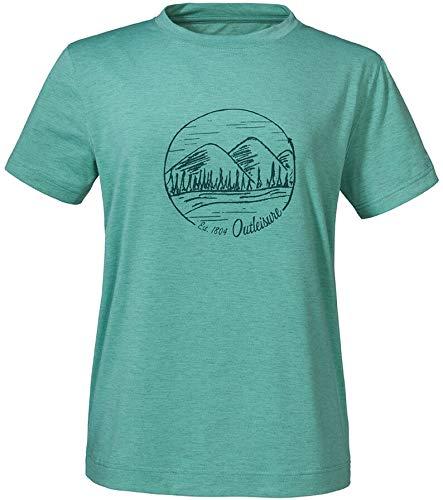 Schöffel Lissabon T Shirt Camiseta para Mujer, Wasabi, 48