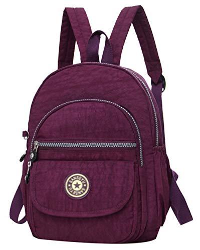 SellerFun Mini Cute Backpack Fashion Daypack Shoulder Bags for Women and Girls(3# Purple,7L)