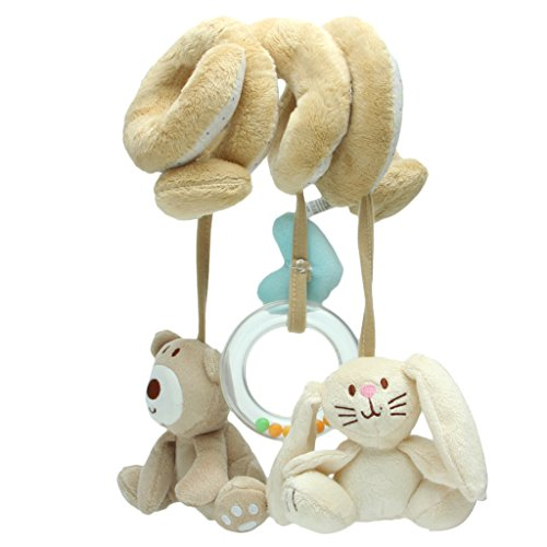 Seaskyer Baby Activity Spiral Stroller, Car Seat Toy, Travel Lathe Hanging Toys ,Bed Hanging Toys Rattles Toy Hot