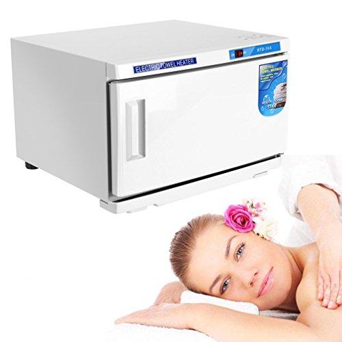 Calentador de toallas Compress Warmer, esterilizador para calefacción UV, desinfección rápida de acero inoxidable, armario para desinfección, esterili
