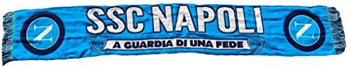 Napoli Sciarpa Ufficiale Jacquard in Acrilico azzurra SCJNAFEDE