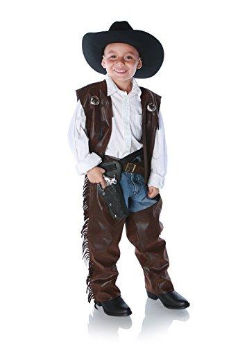 UNDERWRAPS Cowboy Chaps Costume, Small Brown