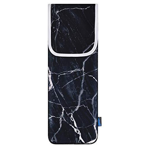 Bluecell Heat Resistant Neoprene Curling Iron Holder Cover Bag Flat...