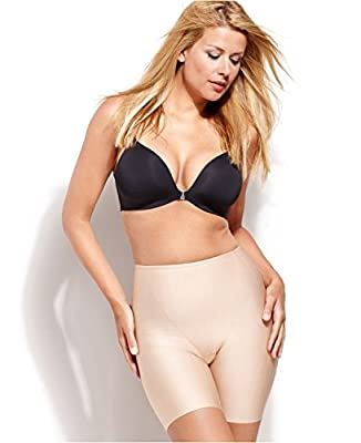 SPANX Star Power Light Control Award Thinners Mid-Thigh Slimmer 1859 - X-Large - Beige