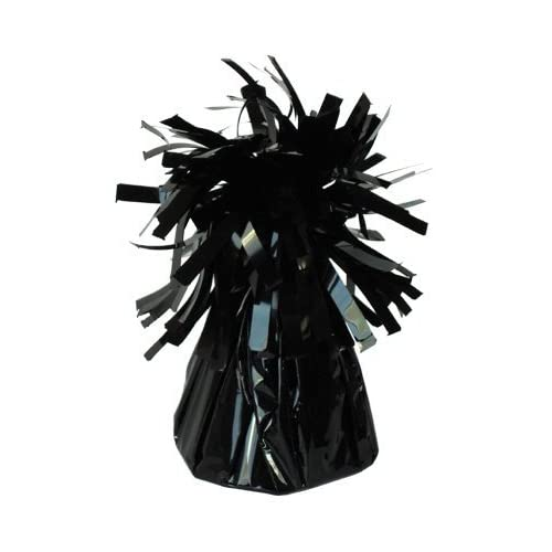 Pack Size Options Black Star Balloon Weights for Helium Balloons