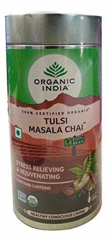 (6 Pack) - Organic India - Org Tulsi Masala Chai | 100g | 6 Pack Bundle