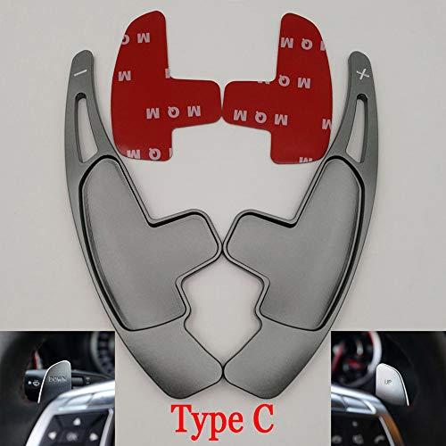 SXHNNYJ Auto Lenkrad Paddel Schaltverlängerung Schalthebel DSG Autozubehör, Für Mercedes Benz AMG A45 C63 S63 CLA45 GLA45 CLS63 SL63