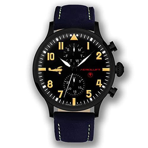 Reloj de Hombre Piloto Aviador Type 1 Manfred Von Richthofen - El Barón Rojo