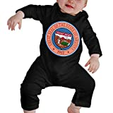 Photo de GLGFashion Unisex Arizona State Seal Newborn Baby 6-24 Months Baby Climbing Clothing Baby Long Sleeve Garment Combinaisons Body bébé Barboteuse