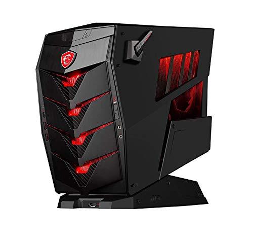 MSI Aegis 3 8RE-095EU – Computer da gioco (Intel Core i7-8700, 32 GB RAM, 2 TB HDD + 256 GB SSD, NVIDIA GeForce GTX 1080 Armor da 8 GB, Windows 10) colore: nero