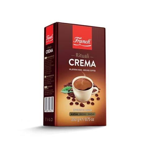 Franck Kaffee Rituali CREMA gemahlen mljevena Kava 250g - türkischer Mokka!