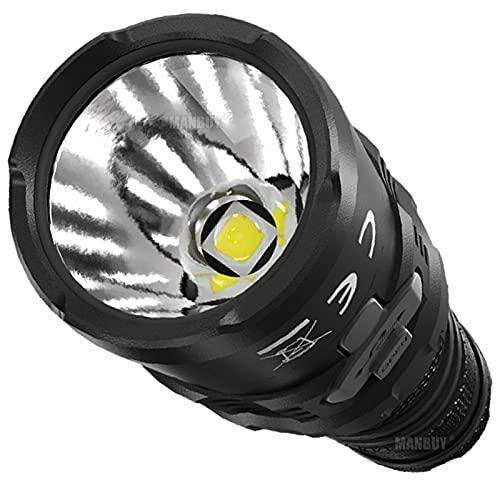 LED-Taschenlampe MH12S 1800 Lumen...