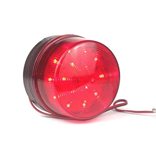 Taikuwu Warnblinkanlage Warnleuchte Warnblinkanlage Warnleuchte 12 / 24V DC Sicherheit Blinkende LED Blitzleuchte Notruf-Warnblinkanlage, Hohe Helligkeit, Wasserdicht