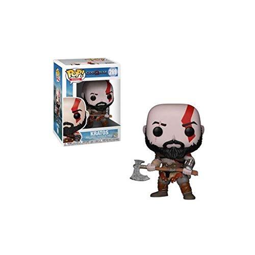 LTY YHP Kratos Abbildung Sparta 3A Gmae God of War Exquisite Figur POP Sammler Spielzeug Collection