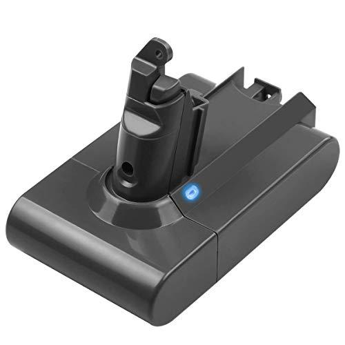 Masione Batteria di ricambio per aspirapolvere Dyson V6 595 650 770 880 DC58 DC59 DC61 DC62 Animal DC72 DC74 Handheld Serie 21.6V 4000mAh