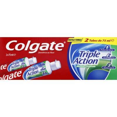 COLGATE - Dentifrice Triple Action Menthe...