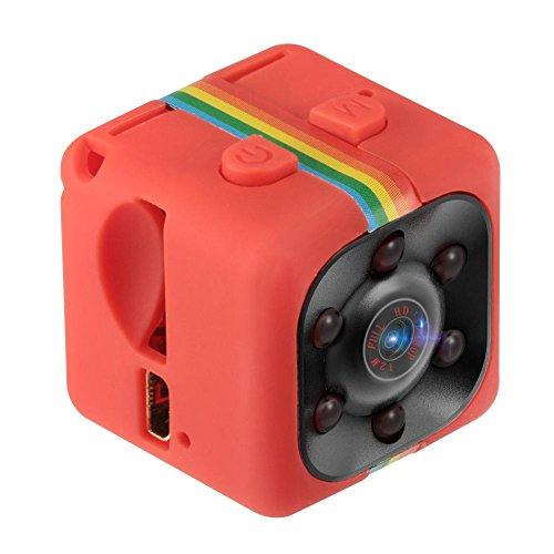 sunroyal® Mini Cámara 1080p HD Cámara con IR visión Nocturna microcamere Cámara Mini DV Deporte Monitor