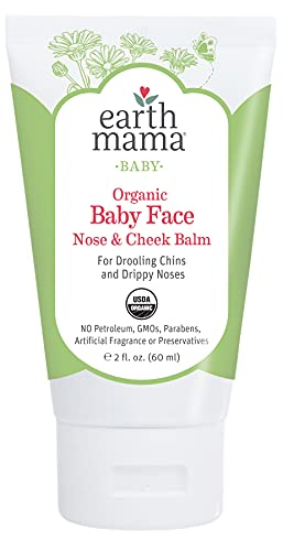 Organic Baby Face Nose & Cheek Balm for Dry Skin by Earth Mama |...