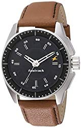 Fastrack Black Magic Analog Black Dial Men's Watch -NK3089SL05
