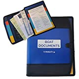 The Boat Galley Boat Documents Organizer – Large Size (Blue)