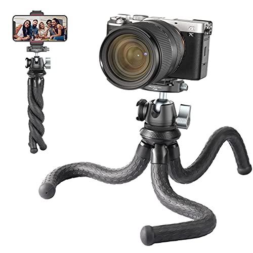 Ulanzi カメラ三脚 +自由雲台 アルカスイス互換 ミニ三脚 フレキシブル GoPro ZV-1 デジカメ 一眼レフ ビデオカメラ プロジェクターに対応 Canon Nikon SONY iPhone Android用 MT-36