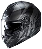 Casco moto HJC C70 BOLTAS MC5SF, Nero/Anthracite, M