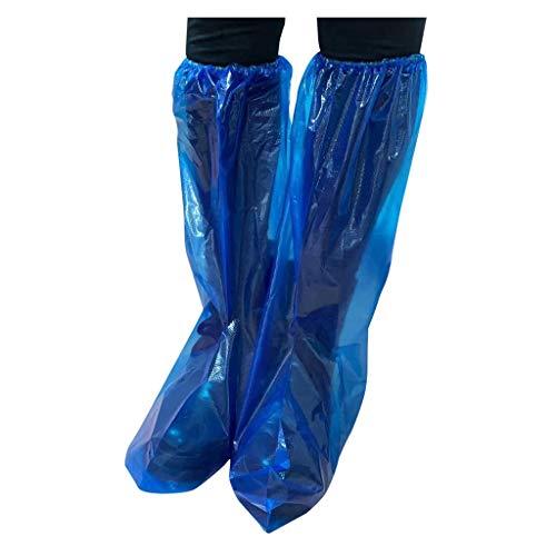 Shoe Cover 22 Stück Überschuhe Einweg Schuhüberzieher Outdoor Rutschfest Wasserdicht Staubdichte Schuhe Abdeckungen Kunststoff Überziehschuhe Teppichreinigung Schuhe und Stiefel Schuhüberzüge