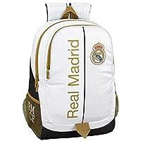 Real Madrid CF 611954665 Mochila, Unisex Adulto, Multicolor, T.Única