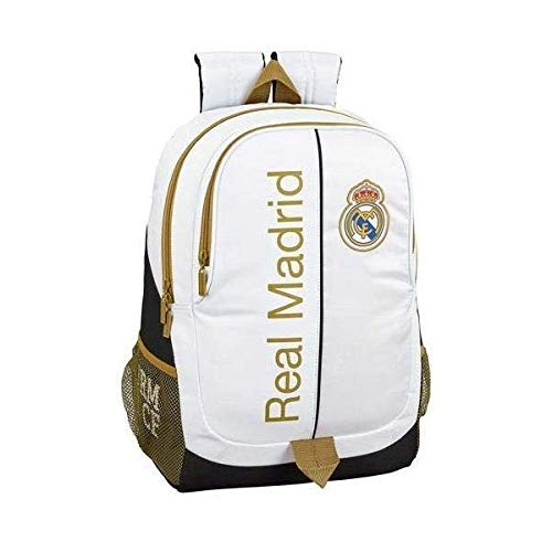 Real Madrid CF 611954665 Mochila  Unisex Adulto  Multicolor  T.Única