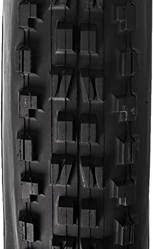 Byrhgood Neumático de Bicicleta Plegable Dual Compuesto de la Pared de la Pared (Color : Black, Size : 29 x 2.50-Inch)