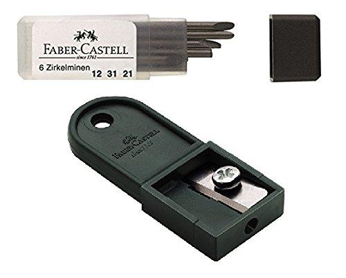 Faber-Castell Zirkel Caja de Plomo, recambios para Todas Las Minas ...