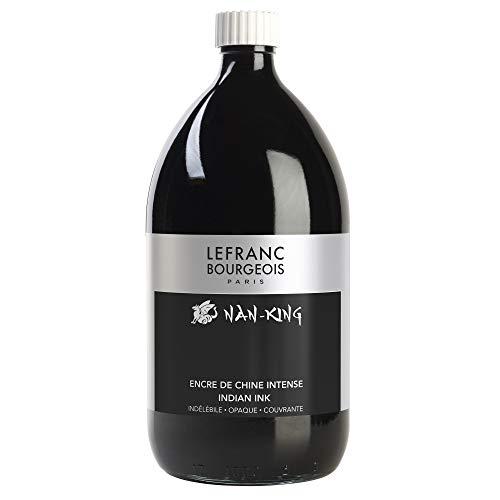 Lefranc Bourgeois Encre de Chine Nan-King Flacon 1L