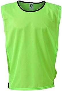 56d6f873f49ae Colete Esportivo de Futebol - Cor Verde Limão - Kanga Sport