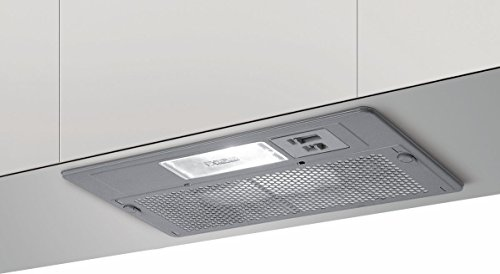 Elica Elibloc 3 Silver F/60 Built-in Silver 250m³/h - cooker hoods (250 m³/h, Recirculating, 58 dB, Built-in, Silver, 1 bulb(s))