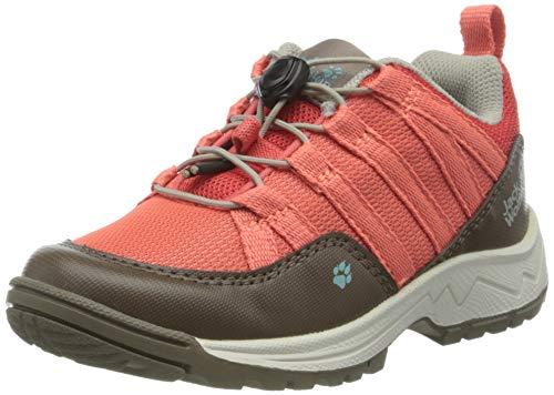 Jack Wolfskin Unisex-Kinder Thunderbolt Low K Trekking- & Wanderhalbschuhe, Pink (Rose/Clay 2241), 35 EU