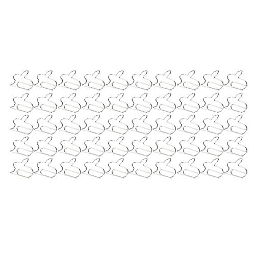 Marcadores Clips de planificador, Clips de papel a prueba de herrumbre Forma de conejo Práctico duradero 50 piezas para organizar documentos Suministros de oficina en casa