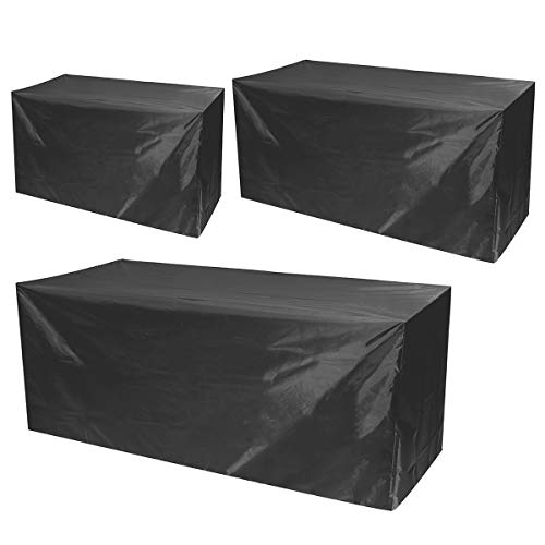 ExcLent Waterproof Furniture Sofa Bench Table Chair Covers 2/3/4 Seaters Garden Outdoor Patio Furniture Cover - S