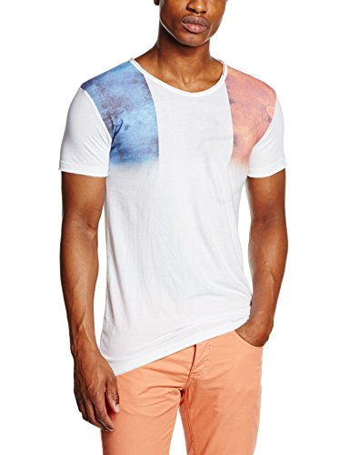 Rica Lewis Euro, T-Shirt Homme, Blanc, Large (Taille Fabricant: L)