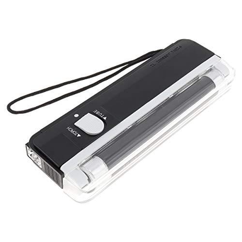 Origlam manuel portable UV lumière noire lampe torche, lumière noire UV lumière l argent Bill détecteur de faux billets devises Cash Sécurité