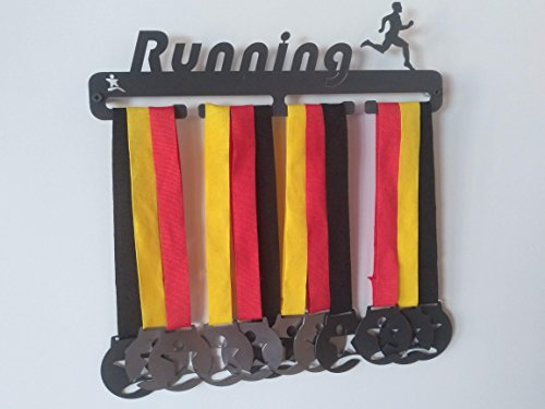 clasificación y comparación No te olvides de la medalla de deportes de running masculino para casa