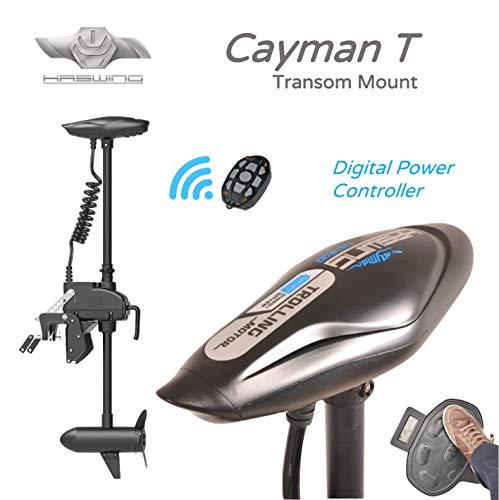 Haswing Cayman-T 55 lbs 12 Volt Elektromotor