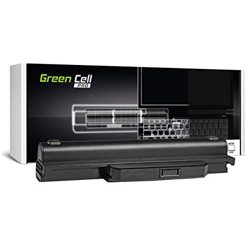 Green Cell Pro Batería para ASUS A53E-XA1 A53F A53J A53JA A53JC A53JQ A53JR A53JT A53JU A53S A53SC A53SC-SX111V A53SC-SX146V A53SC-SX147V A53SC-SX162V Portátil (7800mAh 11.1V Negro)